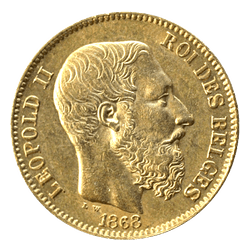 20 Fr België Leopold II
