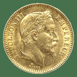 Gouden 20 fr napoleon