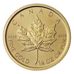 maple leaf 1/4 oz kopen?