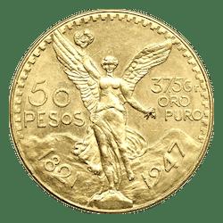 gouden 50 mexicaanse pesos