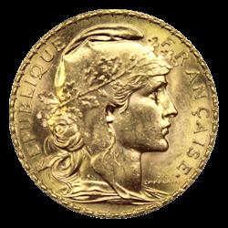 Gouden 20 fr Coq