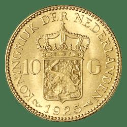 10 gulden gouden munt