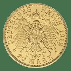 20 mark gouden munt