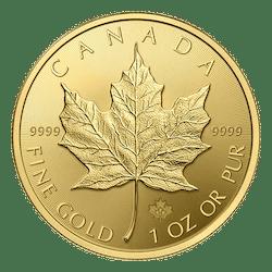 Gouden maple leaf 1 oz